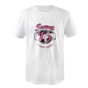 Vintage sayings for sweet 16 shirt design