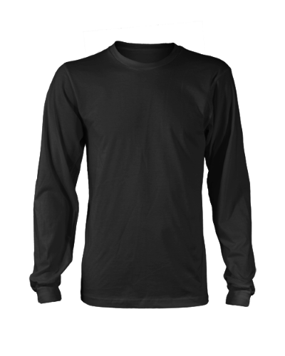 9e42b9e6b948 Custom Printed Men's Longsleeve T-shirt - Design & Print Your Own ...